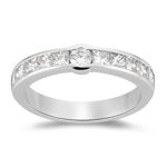Diamond Band - 1.09 Ct Diamond Wedding Band