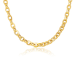Single Link Charm Classico in 14K Yellow Gold