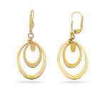 Gold Earrings in 14K Yellow Gold
