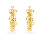 Gold Geometric Collection Earrings in 14K Yellow Gold