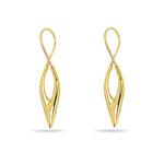 Gold Fashion Earrings in 14K Yellow Gold