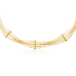 Cable Necklace in 14K Yellow Gold