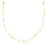 Long Luscious Link  in 14K Yellow Gold