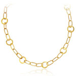 Geometric Necklace in 14K Yellow Gold